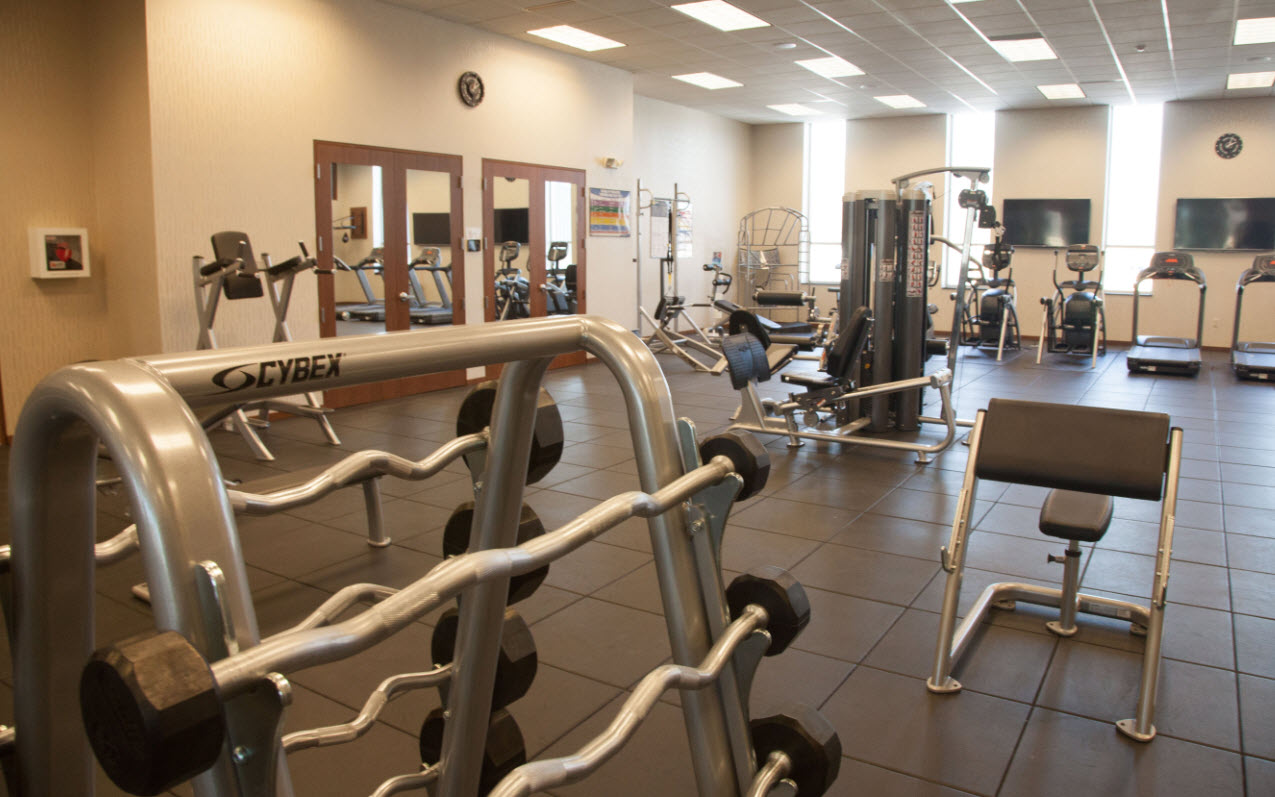 eaton steel onsite fitness center